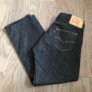 Levi's 501 Original Fit Dark Wash Jeans